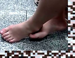 hidden cam feet fetish